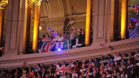Gallery Prommers at the Royal Albert Hall