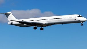 Photo of McDonnell Douglas MD-83