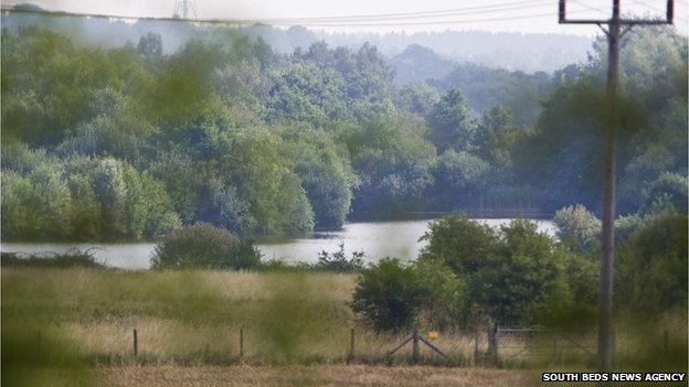 Clophill pits search