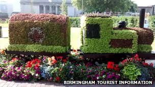 City of Birmingham Ambulance Train - Birmingham floral trail