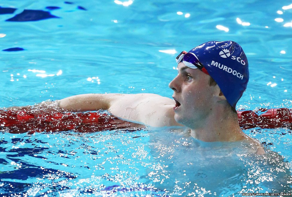 Ross Murdoch wins the  Men's 200m Breaststroke Final
