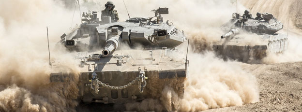 Tanks approach Gaza