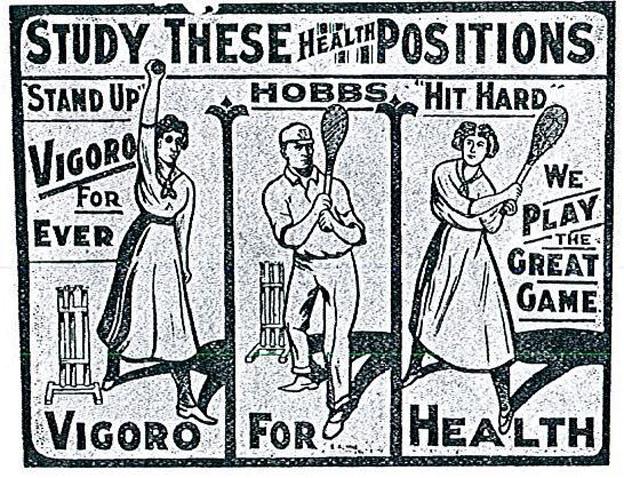 Illustration of Vigoro from early 20th Century