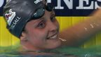 Glasgow 2014: England's Fran Halsall sets Games record
