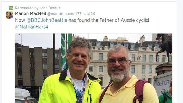 Tweet from John Beattie
