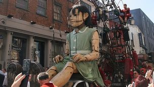 The Little Girl Giant