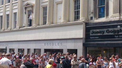 Boodles ledge