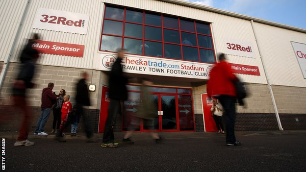 Crawley Town's Checkatrade.com Stadium