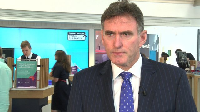 RBS Chief Executive Ross McEwan