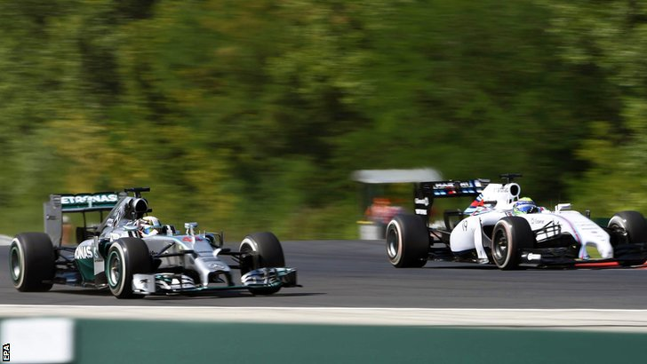 Lewis Hamilton and Felipe Massa
