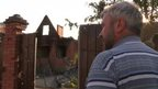 Sergei Vaynagiya returns to his Sloviansk house
