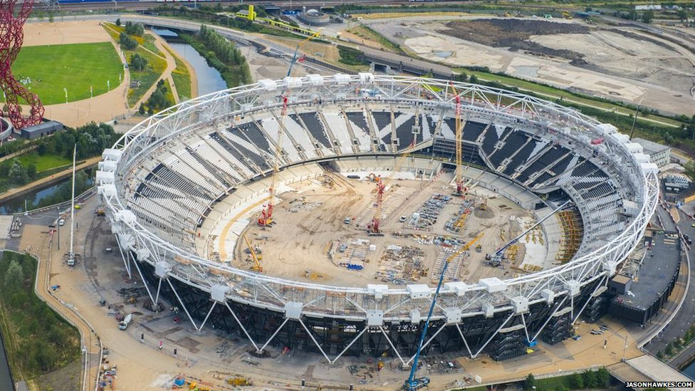 Development of The Stadium at the Queen Elizabeth Olympic Park.