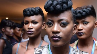 Models in Kinshasa (18 July 2014)