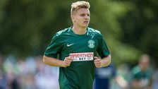 Hibernian forward Jason Cummings