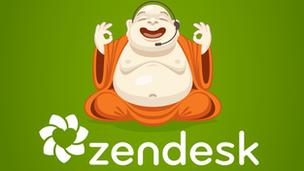 The Zendesk mascot