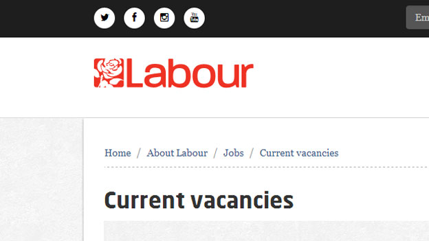 Labour website