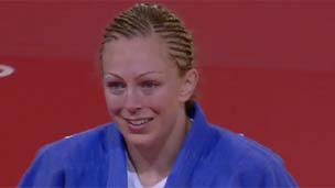 Scottish judoka Sally Conway