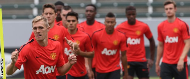 Manchester United pre-season tour of USA