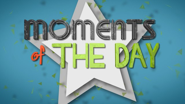 Moments of the day graphic