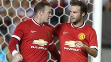 Wayne Rooney and Juan Mata