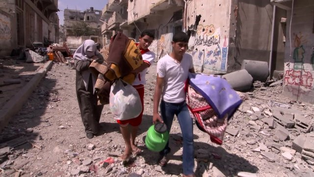 Truce as deaths in Gaza pass 900