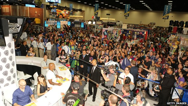 Crowd at Comic-Con