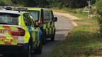 "Warwickshire Police said it was called to ""a serious incident"" in Newton Road, Newton, at 11:45 BST."