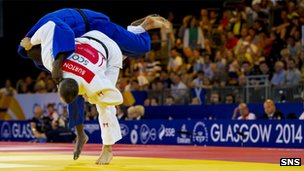Euan Burton has made the 100kg Judo final