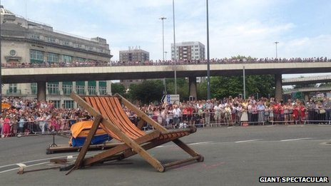 Deckchair for Girl Giant