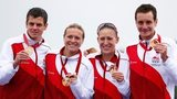 Jonathan Brownlee, Vicky Holland, Jodie Stimpson and Alistair Brownlee