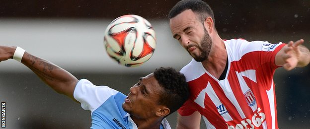 Stoke City's Mark Wilson