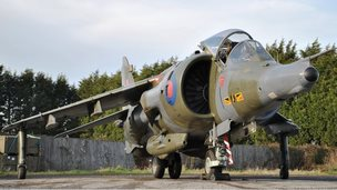 1976 Hawker Siddeley Harrier GR3 Jump Jet