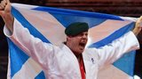 Scottish judoka Chris Sherrington