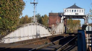 Selby swing bridge