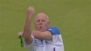 Scottish bowler Alex Marshall