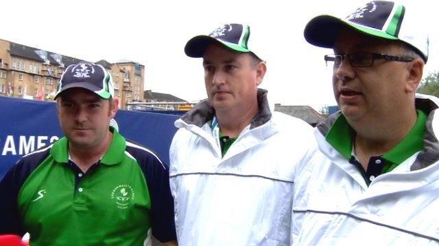 Neil Mulholland, Paul Daly and Neil Booth