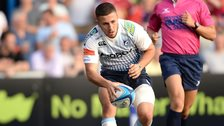 Aled Summerhill scores for Cardiff Blues
