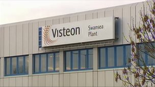 Visteon's Swansea plant