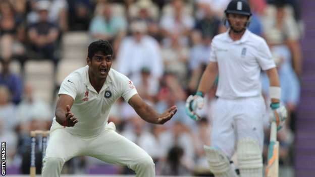 India's Pankaj Singh appeals for lbw