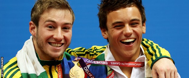 Daley beat Matthew Mitchum to gold in the 2010 Games in Delhi