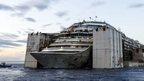 Costa Concordia towed to Genoa