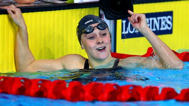 Siobhan-Marie O'Conner claims medley gold