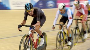 Peter Kennaugh in the men's scratch race