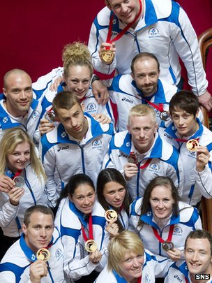 Scotland's judo team collected 14 medals in Glasgow