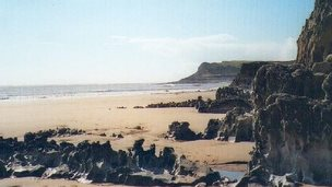 Mewslade Bay, Gower