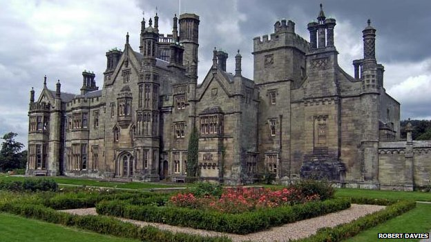 Margam castle, at Margam Park