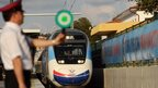 High-speed train arrives in Istanbul