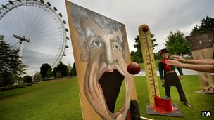 'Jeremy Clarkson big mouth game'