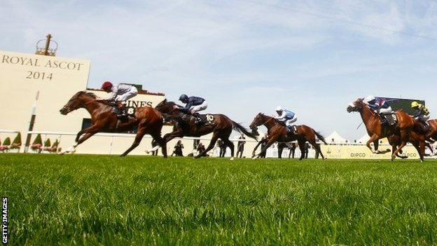 Toronado winning at Royal Ascot