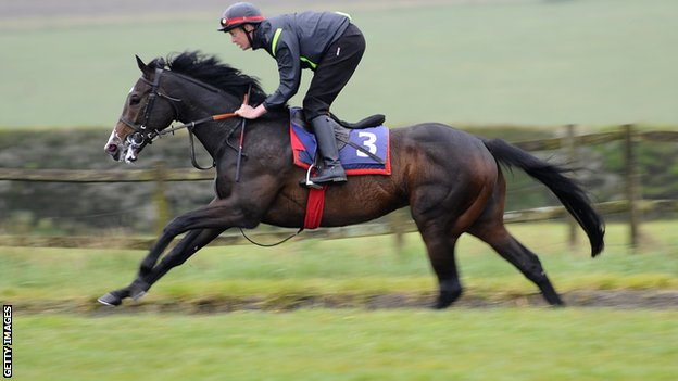 Toormore at Richard Hannon's stables